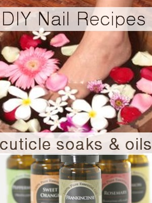 How To Make Natural Cuticle Oil